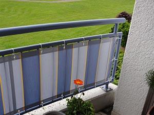 Balkonbespannung Balkon Sichtschutz Von Hofsaess