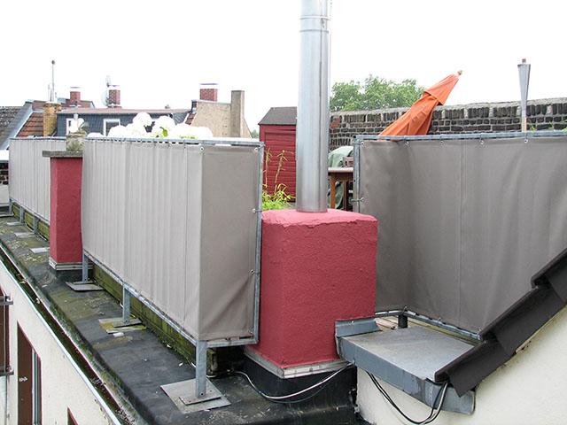 balkon sichtschutz mit balkonbespannungen balkonbespannung. Black Bedroom Furniture Sets. Home Design Ideas