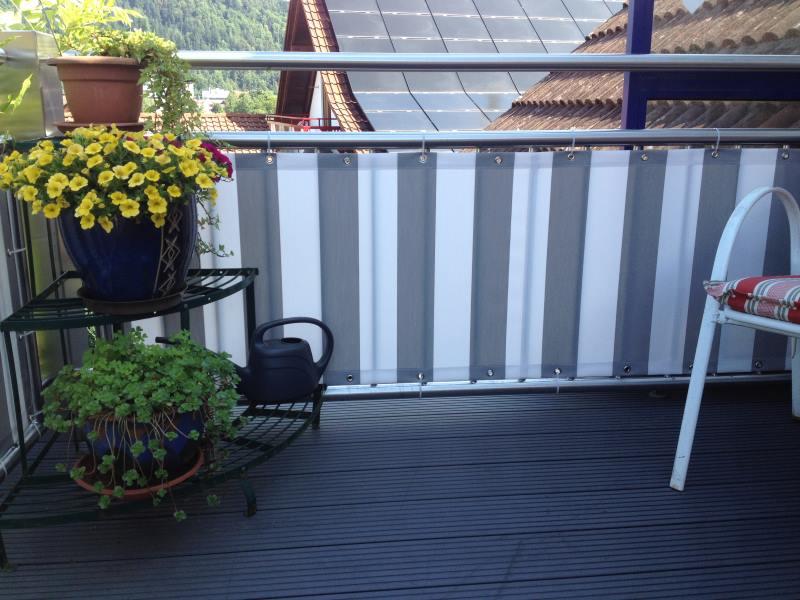 hofsaess balkonverkleidung balkonumrandung balkonbespannung. Black Bedroom Furniture Sets. Home Design Ideas